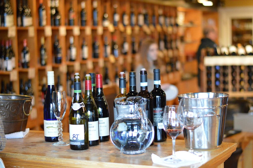 Amazing local wines to taste....